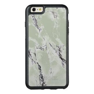 エレガントで黒く、緑がかった灰色の大理石の石 オッターボックスiPhone 6/6S PLUSケース