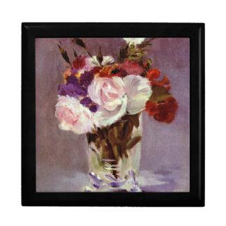 エレガントなばら色の花束のファインアート ギフトボックス