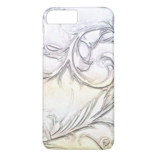 エレガントなアイボリーによって模倣される切り分けられた宝石用原石 iPhone 8 PLUS/7 PLUSケース