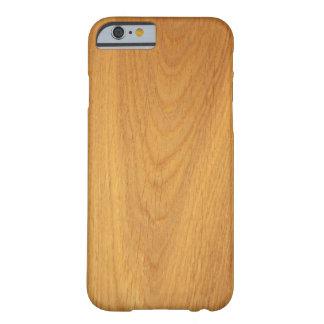 エレガントなカシ木穀物の写真の質 BARELY THERE iPhone 6 ケース