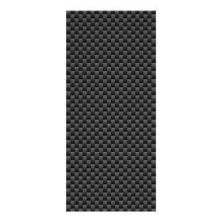 エレガントなカーボン繊維のスタイルのプリントの背景 ラックカード