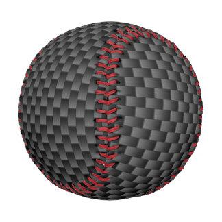 エレガントなカーボン繊維のスタイルのプリントの背景 野球ボール