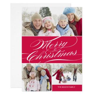 エレガントなクリスマス|の赤 カード