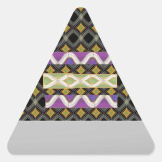 エレガントなダイヤモンドは文字の挨拶のためのnのストリップを振ります 三角形シール