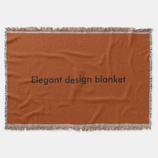 エレガントなデザイン毛布 スローブランケット
