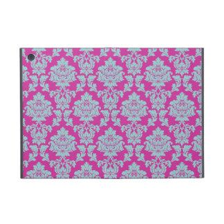 エレガントなバラ色のピンクのダマスク織 iPad MINI ケース