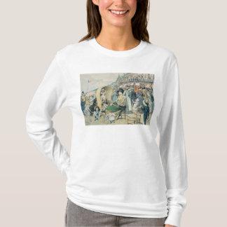 エレガントなビーチ1887年 Tシャツ