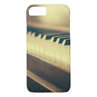 エレガントなピアノは電話箱を調整します iPhone 8/7ケース