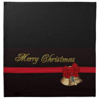 エレガントなメリークリスマス ナプキンクロス