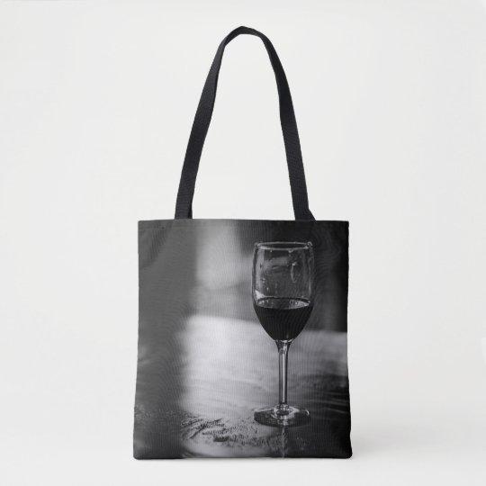エレガントなワイン愛好家のトートバック トートバッグ