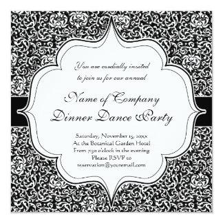 エレガントなヴィンテージのTudorの庭のダマスク織パターン カード