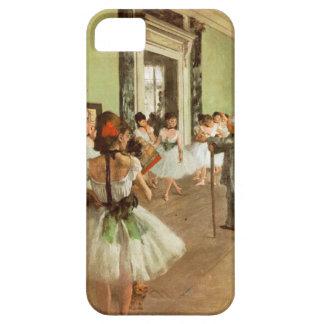 エレガントなヴィンテージはダンス教室、バレリーナのガスを抜きます iPhone SE/5/5s ケース