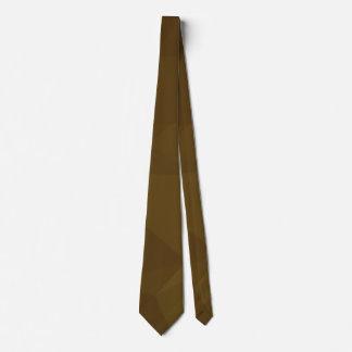 エレガントな及びはっきりした幾何学的設計-黄鉄鉱 ネクタイ