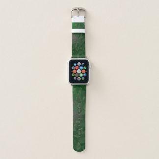 エレガントな及びはっきりした幾何学的設計- Boldenのヒスイ Apple Watchバンド