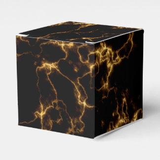 エレガントな大理石style3 -黒い金ゴールド フェイバーボックス