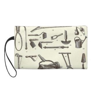エレガントな庭師-旧式な園芸工具 リストレット