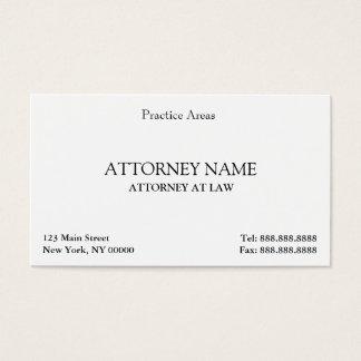 エレガントな弁護士はきれいになります 名刺