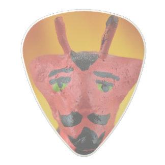 エレガントな悪魔のプレート ポリカーボネートギターピック