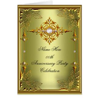 エレガントな招待状カードエリートのアボカドの緑金ゴールド カード
