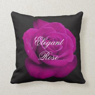 エレガントな明るい赤紫色のばら色の装飾用クッション クッション