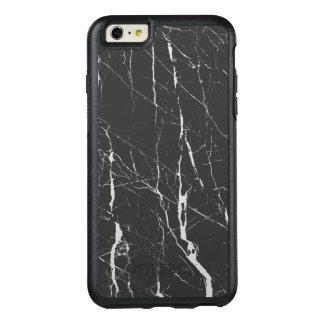 エレガントな灰色および黒い大理石 オッターボックスiPhone 6/6S PLUSケース