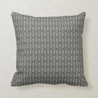 エレガントな灰色の枕 クッション