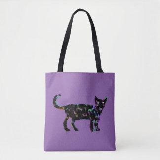 エレガントな猫 トートバッグ