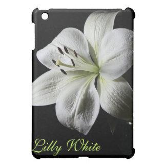 エレガントな白いユリの*personalize* iPad mini カバー