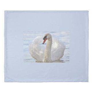 エレガントな白鳥 掛け布団カバー