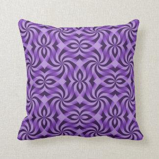 エレガントな紫色 クッション