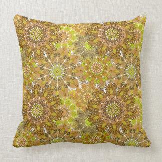 エレガントな花パターンが付いている枕 クッション