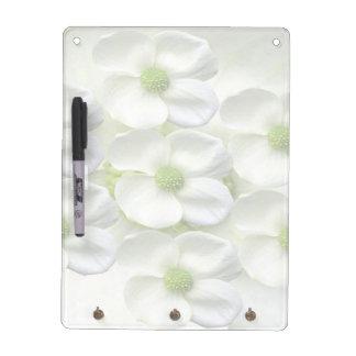 エレガントな花模様 ホワイトボード