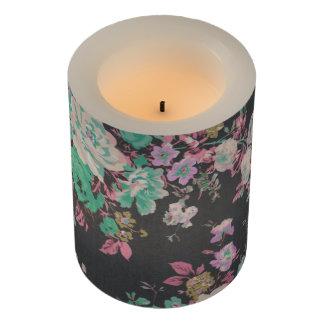 エレガントな花花パターンLED蝋燭 LEDキャンドル
