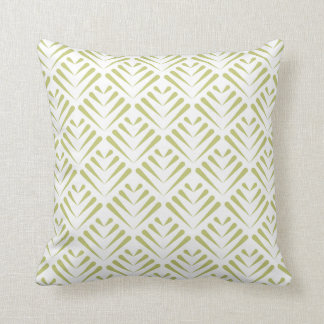 エレガントな葉パターンプリントの枕 クッション