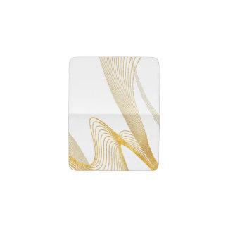 エレガントな金ゴールド-カスタムあなたの色カード財布 名刺入れ