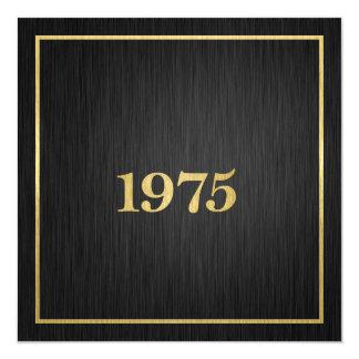 エレガントな金属金ゴールド1975年 カード