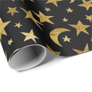 エレガントな金星および月の包装紙 ラッピングペーパー