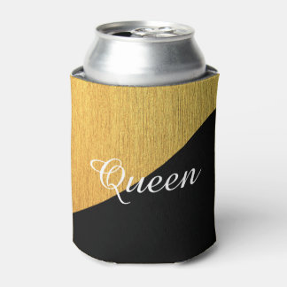 エレガントな金黒いカスタマイズ可能 缶クーラー