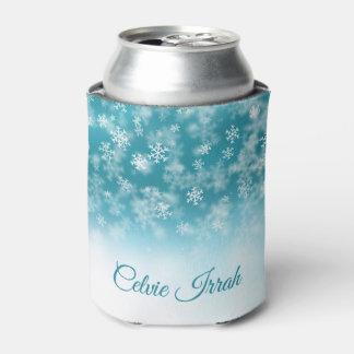 エレガントな雪片名前入りな のクーラーボックス 缶クーラー