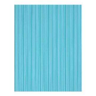 エレガントな青い縞の溝の芸術: 暗い挨拶を加えて下さい レターヘッド