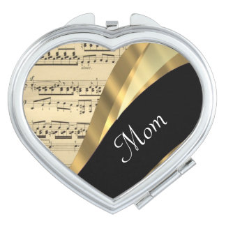 エレガントな音楽シートの母の日