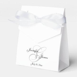 エレガントなGのモノグラム|の結婚式の引き出物箱 フェイバーボックス