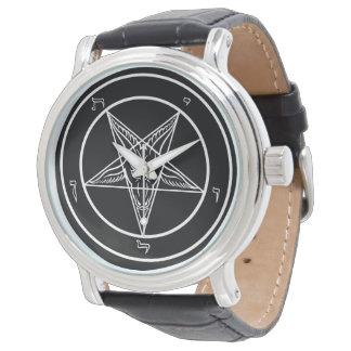 エレガントなSatanのBaphomet教会 腕時計