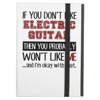 エレキギターのカッコいいを好まなければ iPad AIRケース