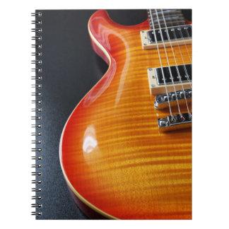 エレキギターのノート ノートブック