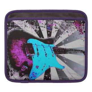 エレキギターのiPadの袖 iPadスリーブ