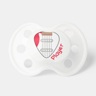 エレキギタープレーヤー おしゃぶり