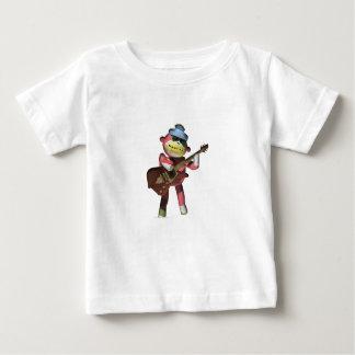 エレキギター猿 ベビーTシャツ