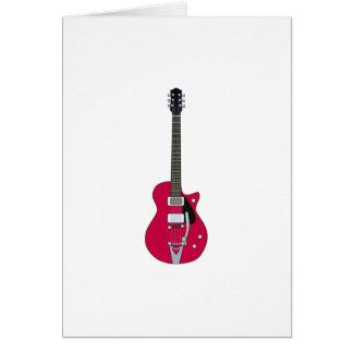 エレキギター カード