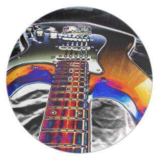 エレキギター プレート